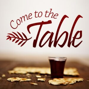 Sunday Supper: Come to the Table